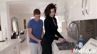 Son Wants To Fuck Stuck Mom First